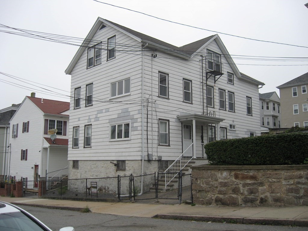 Great three family in Fall River, minutes from the long awaited train station that is coming. The first floor is great for an owner occupant. The last owner updated the apartment. The other two apartments are also in fine condition. A little TLC will make the apartments shine. Apartments have hardwood floors in some rooms. Baseboard heat in the first and second floor. Space heater in the third floor. The roof is less than 2 years old. Seller owns all three hot water tanks. Utilities are separate. Plenty of room for storage in the basement and there is no sign that the basement gets wet. Property will not pass an FHA appraisal. Call Today to make your appointment.