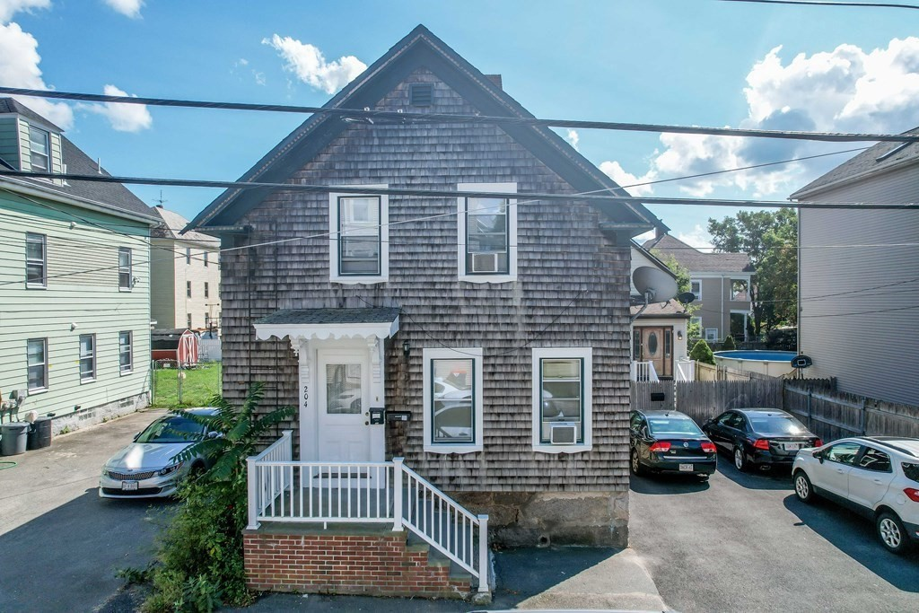 Welcome to the lowest priced 2 family in New Bedford! This great turn key 2 family property has off street parking and each unit a 1 bedroom. Tenants are in good standing and rent is below market value! Looking for extra income and for instant equity? This is the perfect fit for you! It can also be purchased as a package with 206 Austin st.