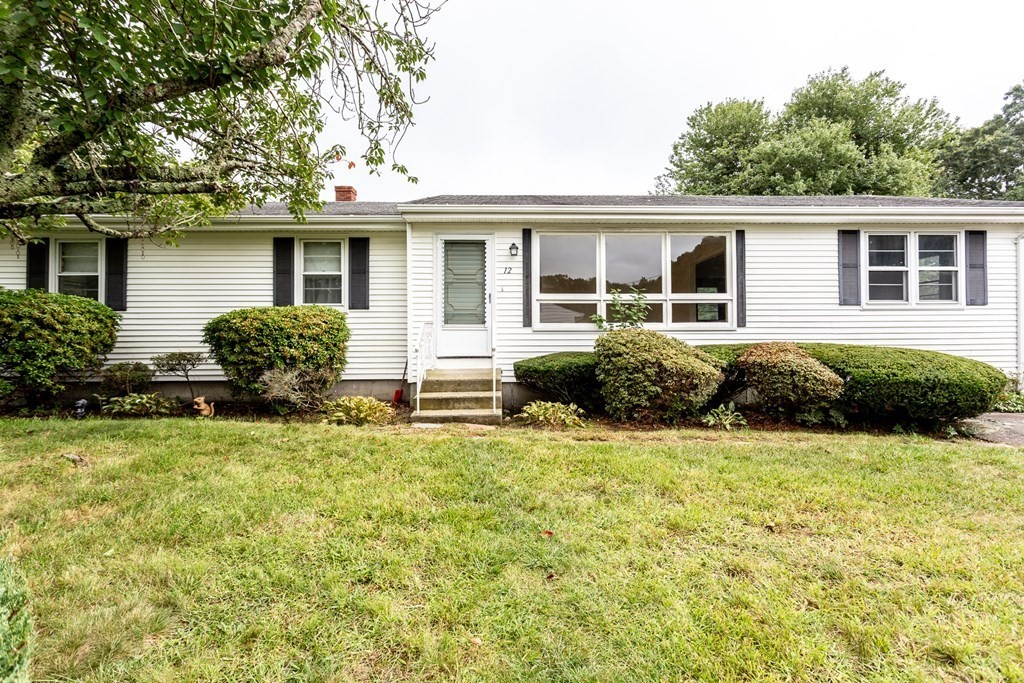 """This 3 Bed 1 Bath ranch is located in a desirable Dartmouth neighborhood. It is just waiting for a new owner to put their stamp on it and make it their own. It needs some TLC- part of the roof needs to be replaced but there are no active leaks and most of the flooring is hardwood underneath the carpeting. Located on a corner lot the yard offers loads of privacy and a large patio.  The home's floor plan is classic ranch with spacious living area and a kitchen that provides ample cabinetry and counter space. Must See! Not suitable for all financing. Sold """"AS IS"""" ."""