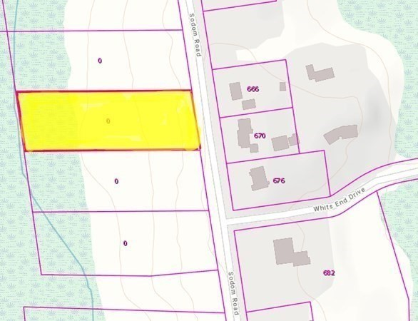 Looking for land to build your dream home on? This 1.5 Acre lot on Sodom Rd has already been cleared, Well installed, Engineering done, Stamped septic design (4 bedroom septic) in place and permit obtained. Water Analysis results available upon request.  Driveway has also been cleared (unpaved). Buyer to do any further due diligence based on their own building requirements/preferences. Wooded Lot is directly across from #666 & #670 Sodom Rd (Look for the tree marked #13). 150' of Frontage. Builder is willing to sell the lot separately, as-is, or buyer can proceed with the builder's planned/proposed Ranch to be built. See MLS#72886422