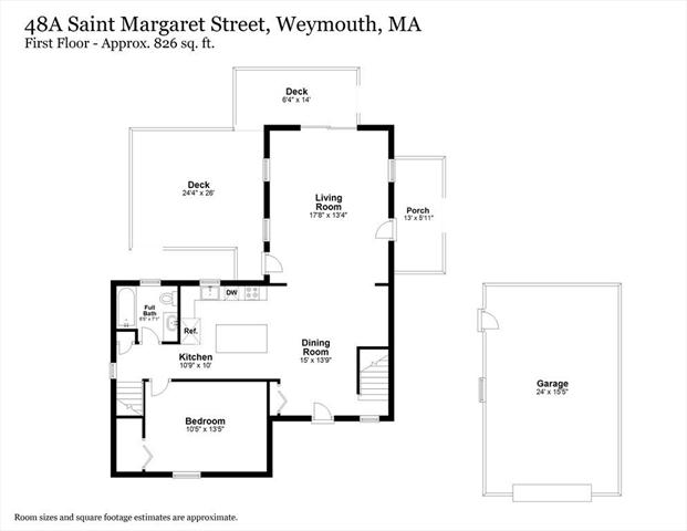 48-A Saint Margaret Street Weymouth MA 02189