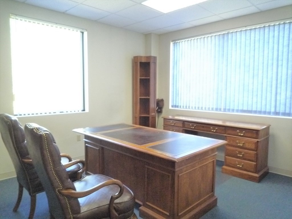 Somerset- Second Floor two offices for Lease. One corner office with excellent natural light thru two windows. One smaller office with a window. Rent one or both. On site parking is excellent. Perfect for a 1-2 person operation.
