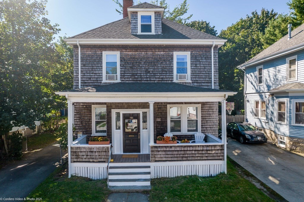 Beautifully updated and lovingly cared for colonial in the west end of New Bedford. The home offers spacious rooms, a large yard, a 2-3 stall garage a much more. Call today to schedule your showing.