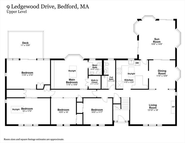 9 Ledgewood Drive Bedford MA 01730