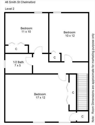 46 Smith Street Chelmsford MA 01824