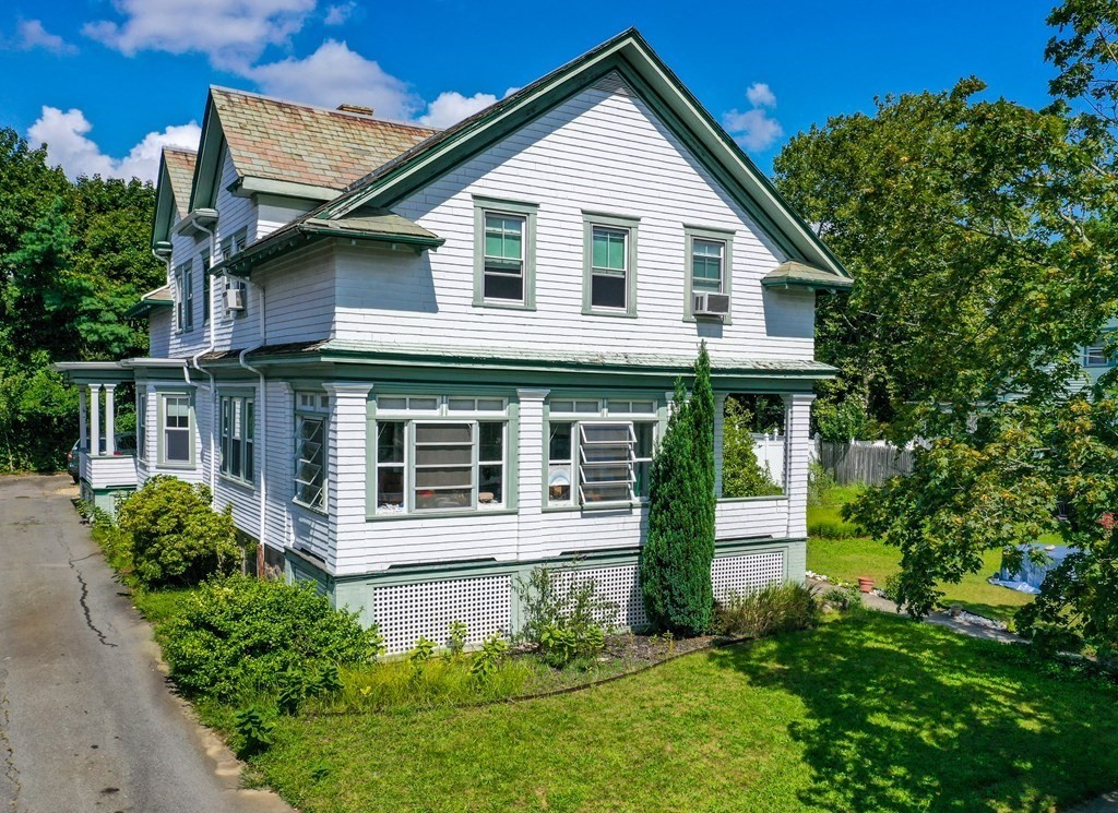 First showing at Open House on Sun. Sept. 26th from 12:00 to 2:00. This Stately New Bedford 10 Room, 5 BR, 1.5 BA Colonial is an ideal home for large family gatherings. Pictures show some of the architectural details, as well as some recent updating, however, there is still more TLC needed. This property offers plenty of off-street parking, fenced yard, second floor laundry room, and a welcoming sun porch. The kitchen is very appealing and works well for someone who loves to cook. Must be seen to appreciate all that this spacious home has to offer.
