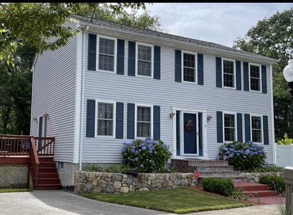 Meticulously Maintained 3 bed 2.5 bath Colonial situated at the end of a cul de sac in the far north end of New Bedford.  Home features a large eat in kitchen that opens up to both the dining room and living room with granite counter tops, a large two tiered island, stainless appliances, and 42 inch maple cabinets with crown moldings.  Hardwood floors in the living room and dining room, tile in the kitchen and wall to wall carpeting in the bedrooms along with Andersen windows throughout.  A large master suite featuring a master bath and walk in closet.  Exterior feautures to include 3 fruit trees (apple, plum and peach), large deck and private yard great for entertaining.
