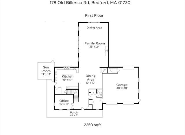 178 Old Billerica Road Bedford MA 01730