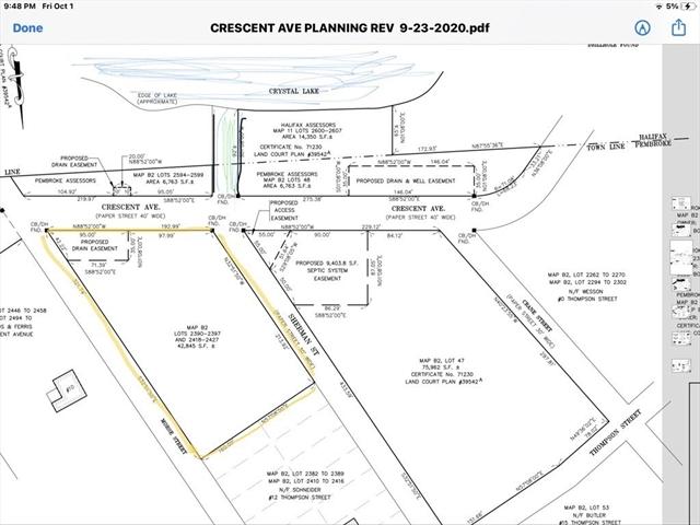 lot 2 Crescent Avenue Pembroke MA 02359