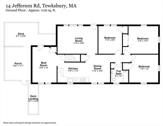 14 Jefferson Road Tewksbury MA 01876