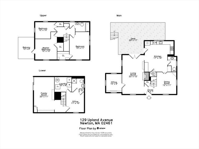 129 Upland Avenue Newton MA 02461