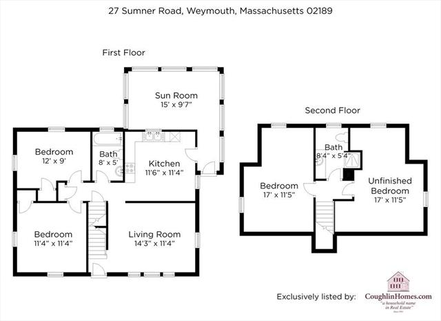 27 Sumner Road Weymouth MA 02189
