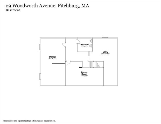 29 Woodworth Avenue Fitchburg MA 01420