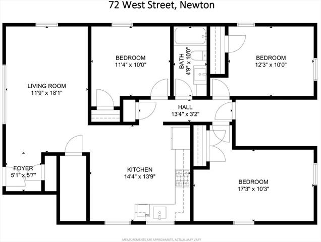 72 West Newton MA 02458