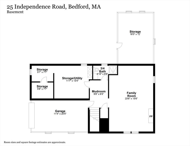 25 Independence Road Bedford MA 01730