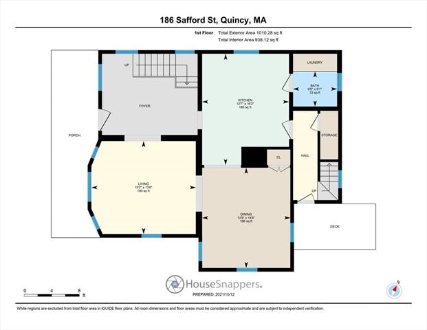 186 Safford Street Quincy MA 02170