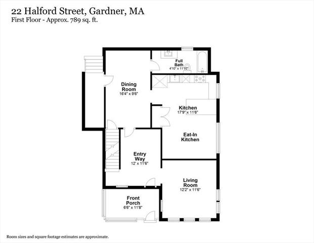 22 Halford Street Gardner MA 01440