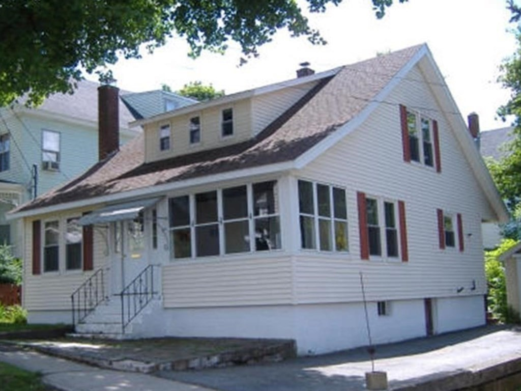 Colonial offering 4BR/1BA, with one bedroom on first floor and a 1-Car Garage. This charming home is located close to Silver Lake and Silver Lake Park where you can enjoy swimming, ballfields, tennis and stocked fishing! Good area and neighborhood close to elementary school and playground. Convenient to local shopping areas and restaurants! Fireplace in Family room with HW flooring, 3 season porch with extra enclosed porch in rear. Closet for Bedroom 4 is in the upstairs hallway but could easily be converted. Front roof 2020. Great home with easy care yard! Price reflects updating needed to make this home shine!