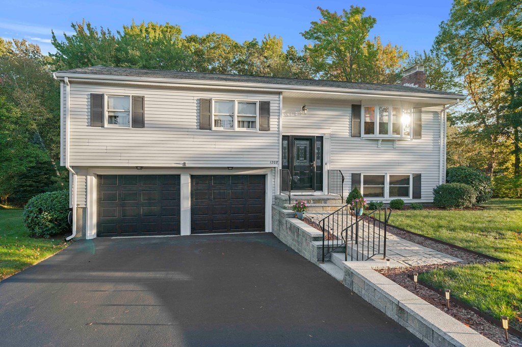 Open House Sunday 10/24 11-1.  Welcome home to 1208 Liberty St, this well maintained split entrance home in desirable highlands area. This 4 bedroom, 2.5 bath split entry home has so much to offer with its 2 car garage, over 2000 sq ft of living space, 2 fireplaces all situated on almost 1/2 acre lot.   This location has so much to offer close to Shopping, public transportation, schools & much more.  So many updates, 2012 new boiler & hot water heater, 2014 upgraded electric to 100amp service, 2014 beautiful stone walkway, wall & stairs, 2015 new driveway, 2016 new garage doors & openers, 2017 insulated attic, 2019 new central air system installed & so much more.  Open floor plan living with sliders to a partial screened in deck & beautiful level back yard surrounded by woods offering so much nature.  Don't miss this opportunity.